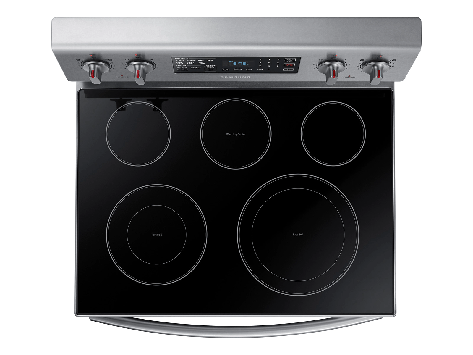 05_Range_Electric_NE59M4320SS_Top-View_Cooktop_Elements-Burners_Silver
