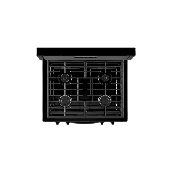 whirlpool 5.1 cu range with under oven broiler black ad2