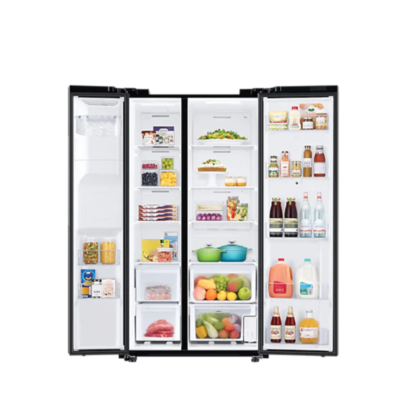 Samsung 27 Cubic Side By Side with Smart Hub Refrigerator 4